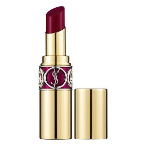 Yves Saint Laurent Rouge Volupté Shine in 18 Prune In Fire - deep raspberry #sephora
