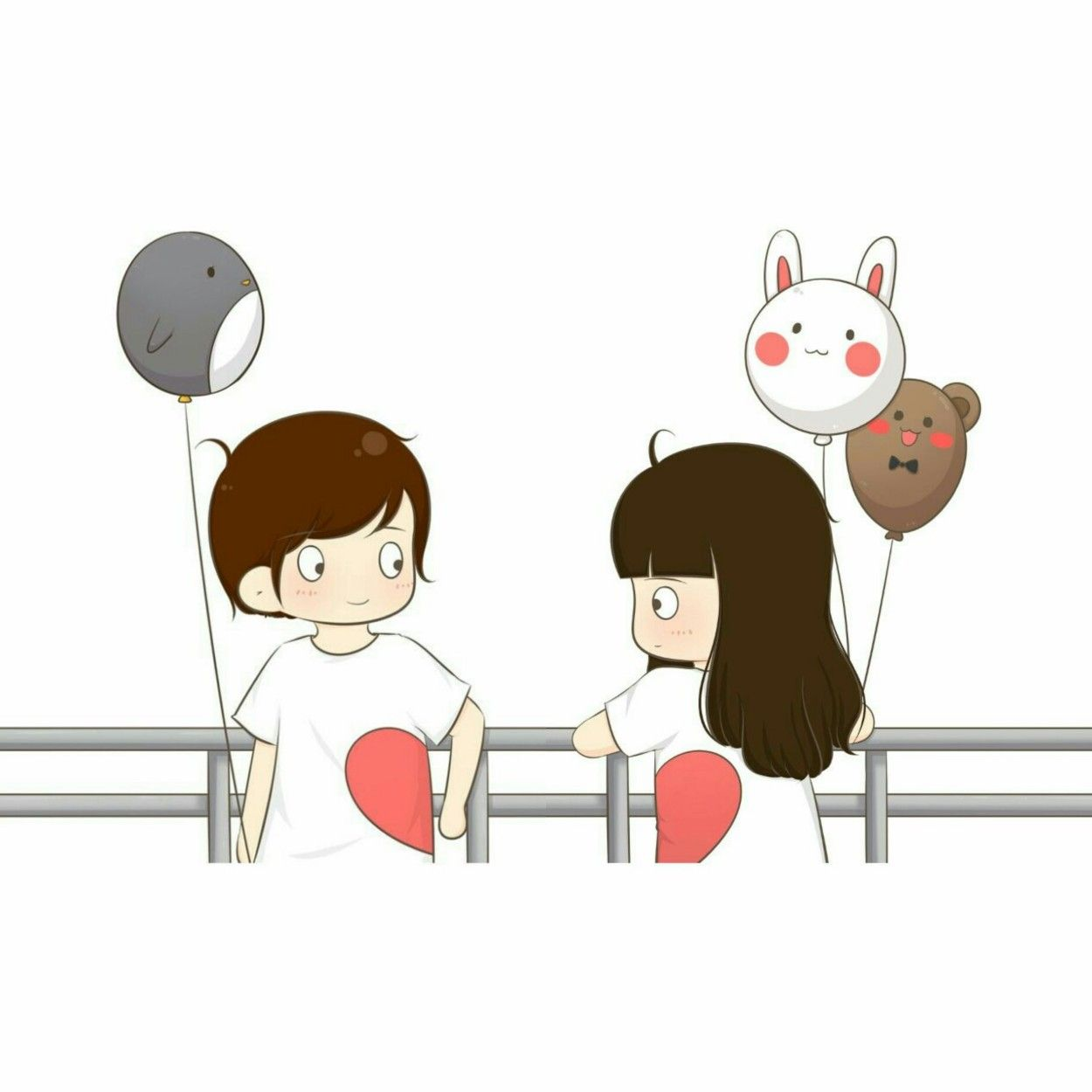 So Cutee Cute Couple Wallpaper Cute Cartoon Wallpapers Cute Love Cartoons