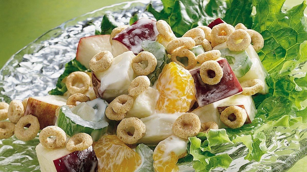 Crunchy Apple Salad recipe and reviews - A perfectly refreshing balance of sweet and salty with lots of crunch. Surprise your family with this great-tasting salad tonight!