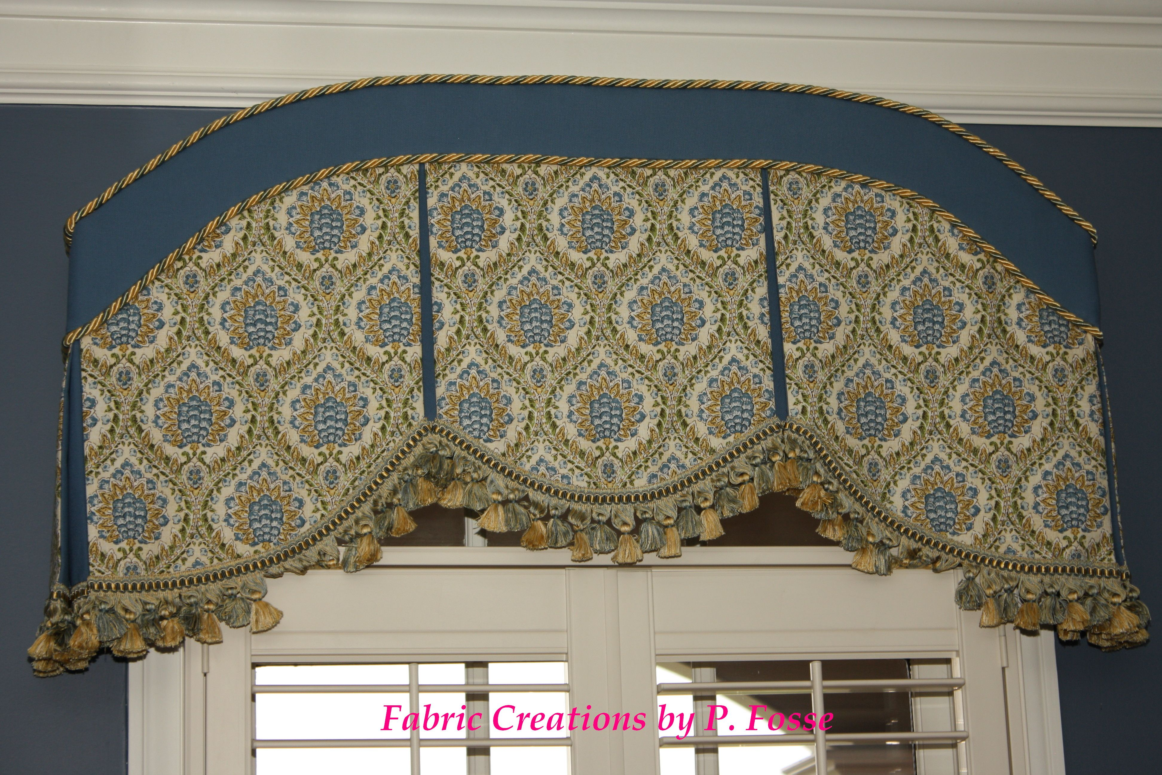 Window Curtain Box Design Curved Box Pleat Valance By Fabric Creations Curtains Box