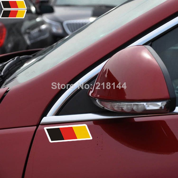 Germany Car styling Car stickers and decals Reflitive Auto ...