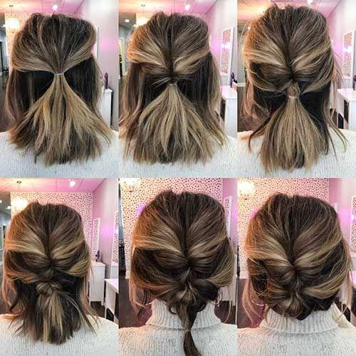 Cute Easy Hairstyles For Short Hair Short Hair Styles Easy Cute Hairstyles For Short Hair Cute Short Haircuts