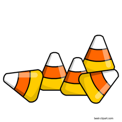 Free Candy Corn Pieces Clipart Halloween Clipart Free Thanksgiving Clip Art Halloween Printables Free