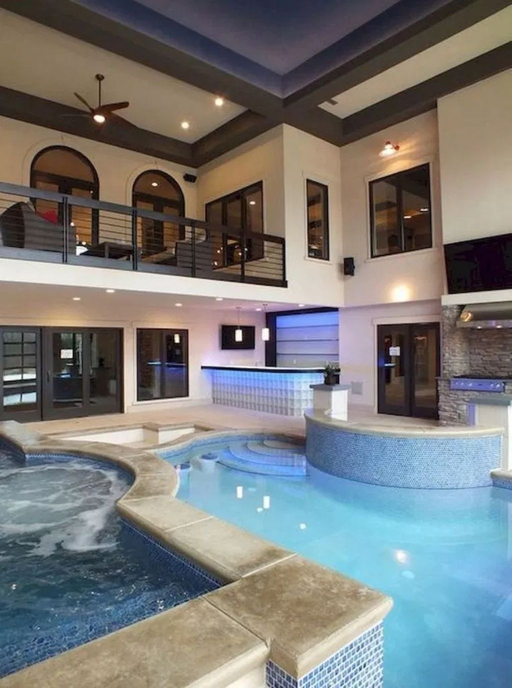 30 Catchy Small Indoor Swimming Pool Design Ideas Indoor Pool Design Indoor Swimming Pool Design Luxury Swimming Pools