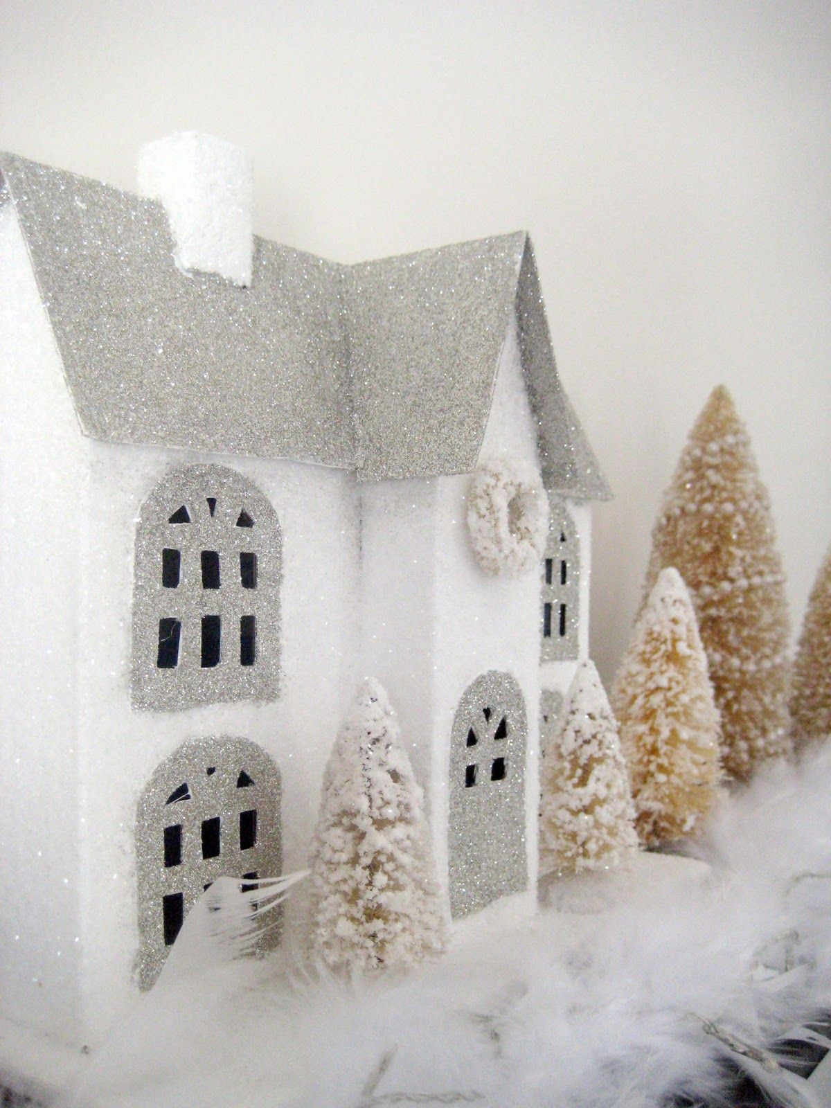Glitter House tutorial | Christmas - great ideas and looks ...