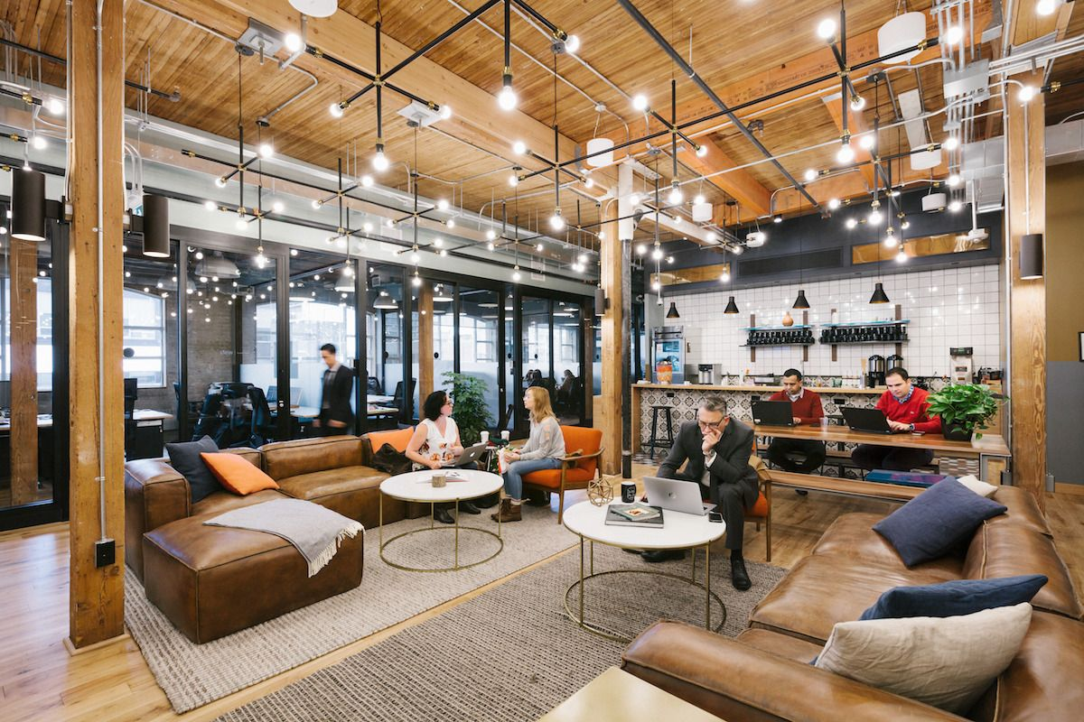 City Of Toronto Partnership Gives Entrepreneurs Access To International Wework Spaces Shared Office Space Office Space Design Coworking Design