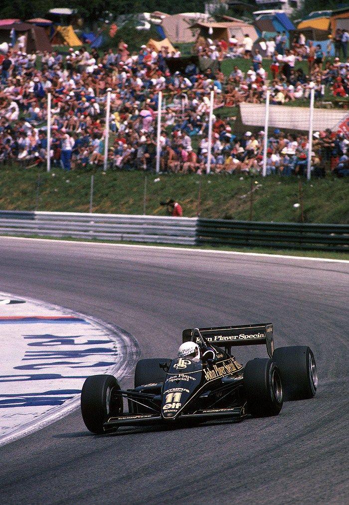 Elio de Angelis Lotus - Renault 1985