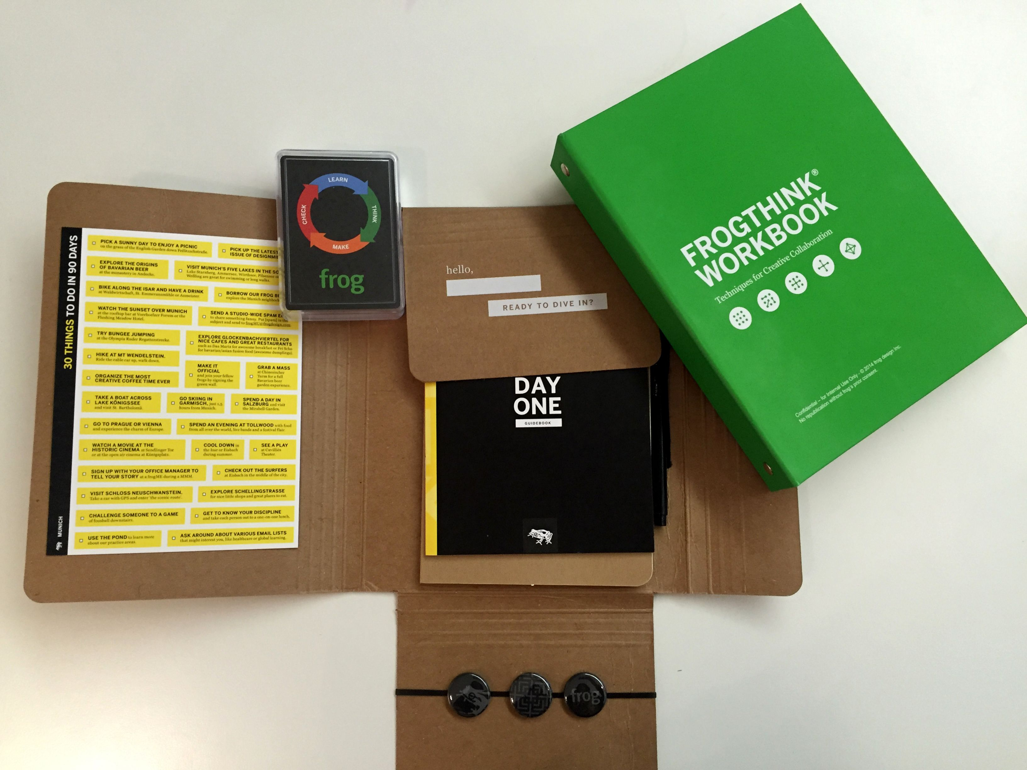 frog Media Kit. We already have existing formats, like the welcome ...