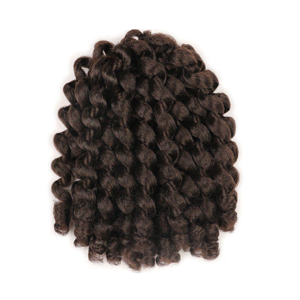 inch short jumpy wand curl crochet braids hair packs synthetic