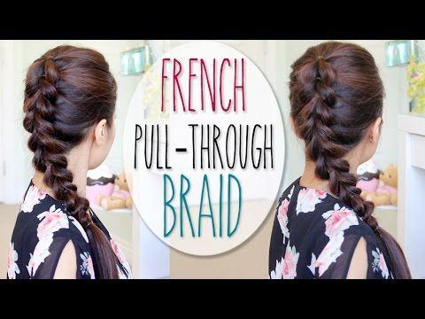 french pull through braid hair tutorial faux dutch braid french pull through braid hair tutorial faux dutch braid youtube ccuart Choice Image