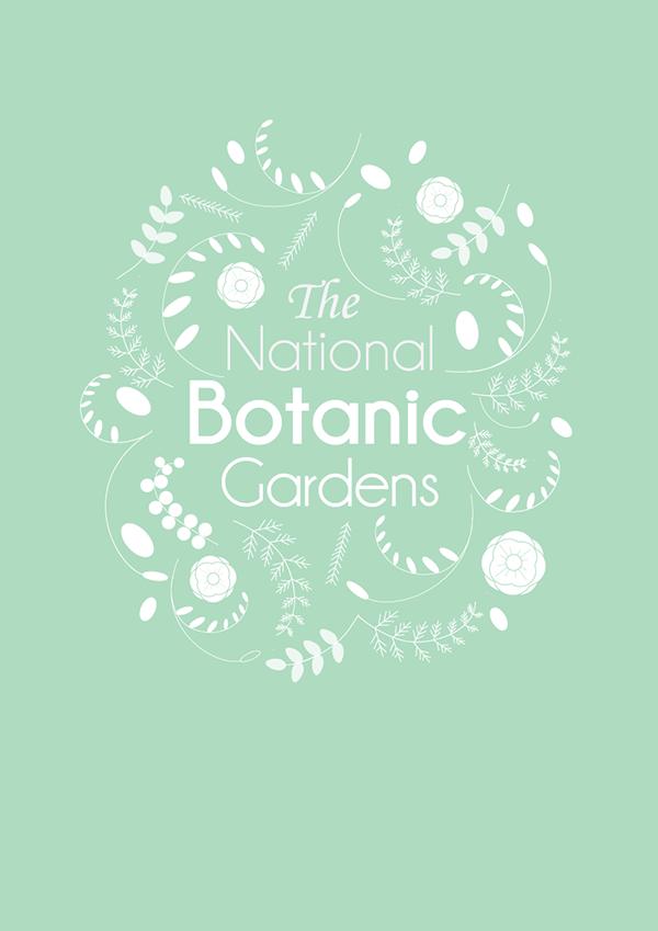 Botanic Garden Poster. by Fiona Meade, via Behance