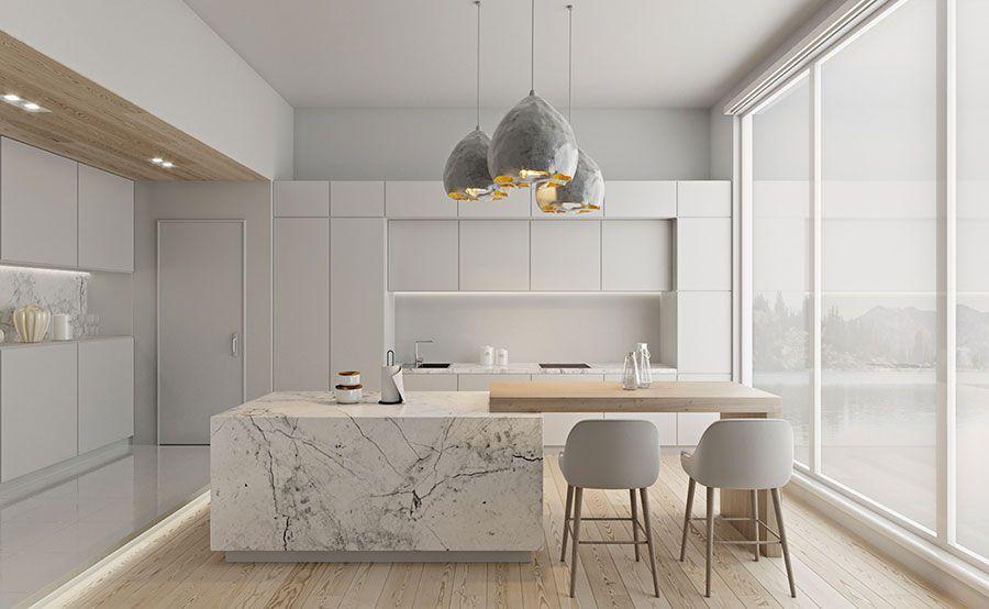 Photo of 160 Idee per Arredare una Cucina Bianca