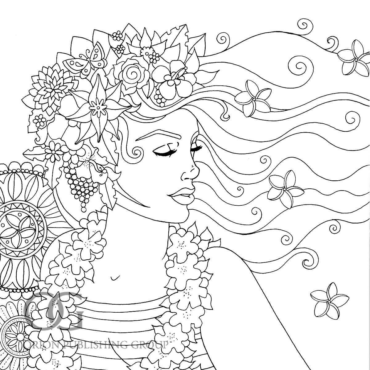 Pin By Beth Conroy On Color Coloring Pages For Girls Coloring
