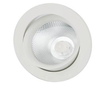 Spot encastrable downlight led Spot dimmable et variable de 2700K