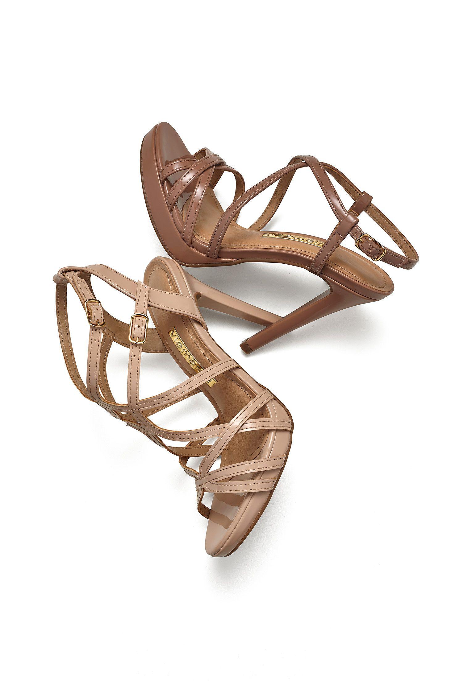 4d8d1332b Sandálias - Trend - Tendência - Heels - Ref. 16-16403 | 16-14504 ...