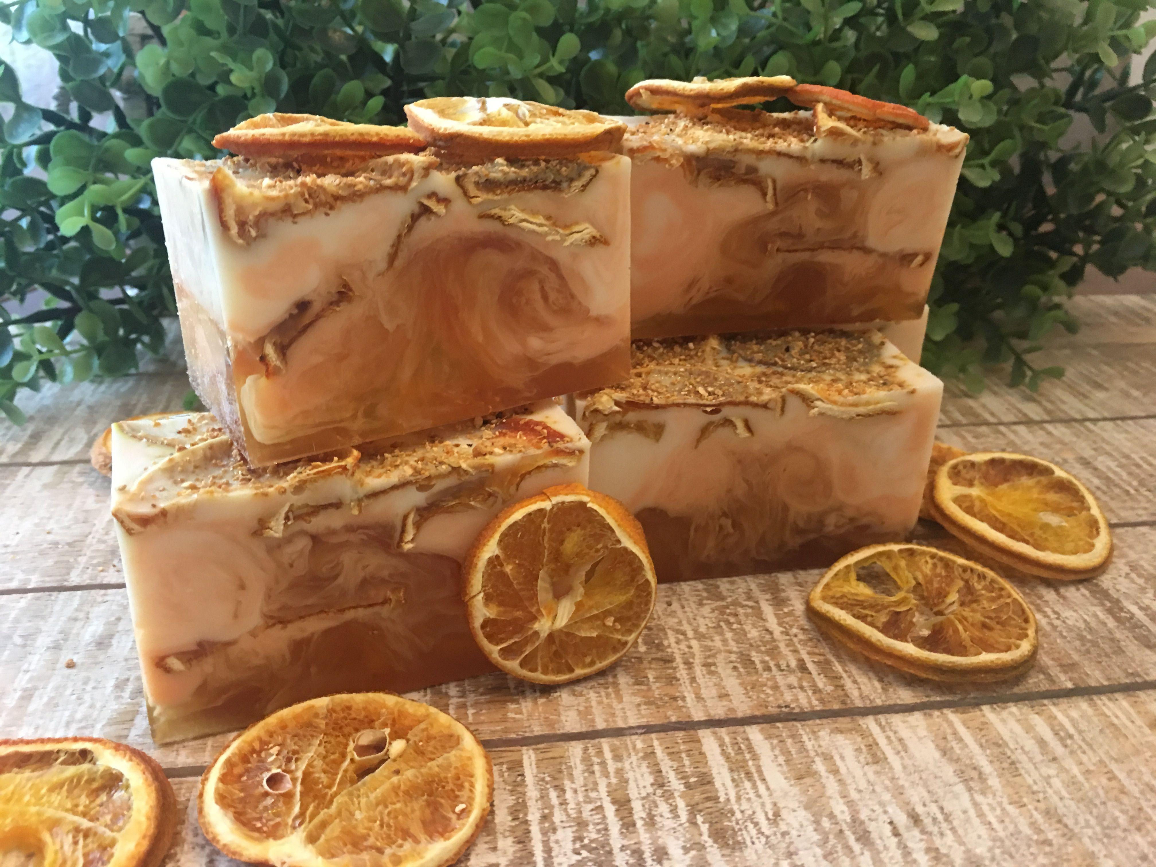 Orange and Honey Body Bar Recipe Homemade soap recipes