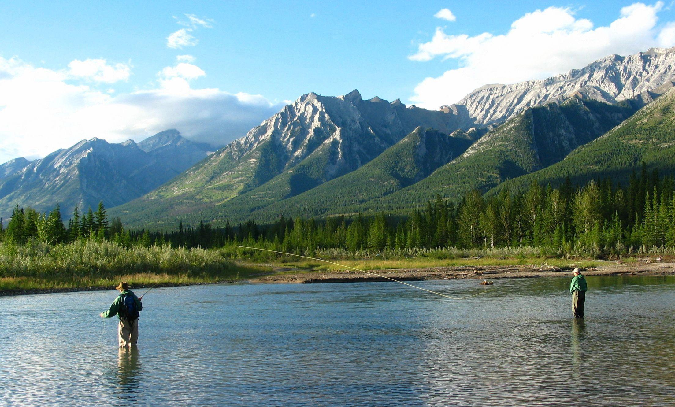 Banff Fly Fishing Trips Fishing Tours Fly Fishing Nymphs Fishing Trip