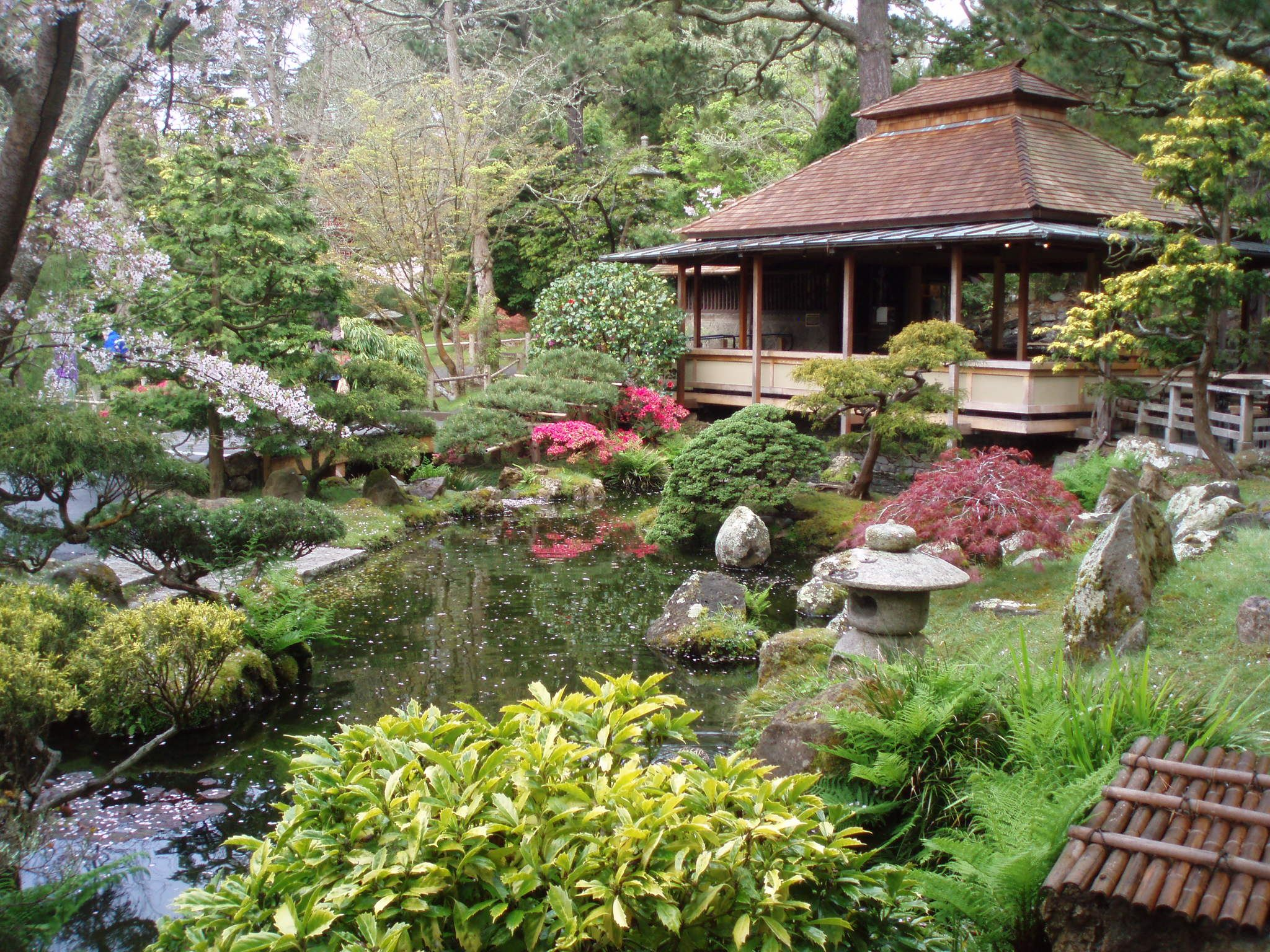 Japanese Tea Garden Wallpaper Wide with Wallpaper High Resolution