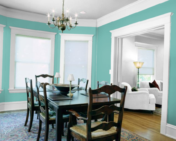 Sherwin Williams Matched Tiffany Co Blue Closest We