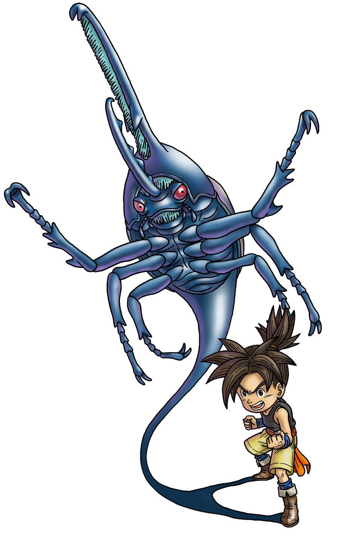 Shu from Blue Dragon Awakened Shadow Blue dragon