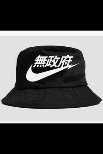 hat nike air bucket hat chinese bucket hat menswear style swag swag hats 2640fec7a3