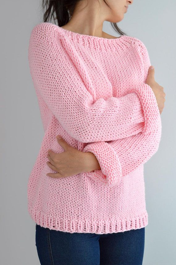 Easy Sweater Pattern Detailed Instruction With Video Tutorials