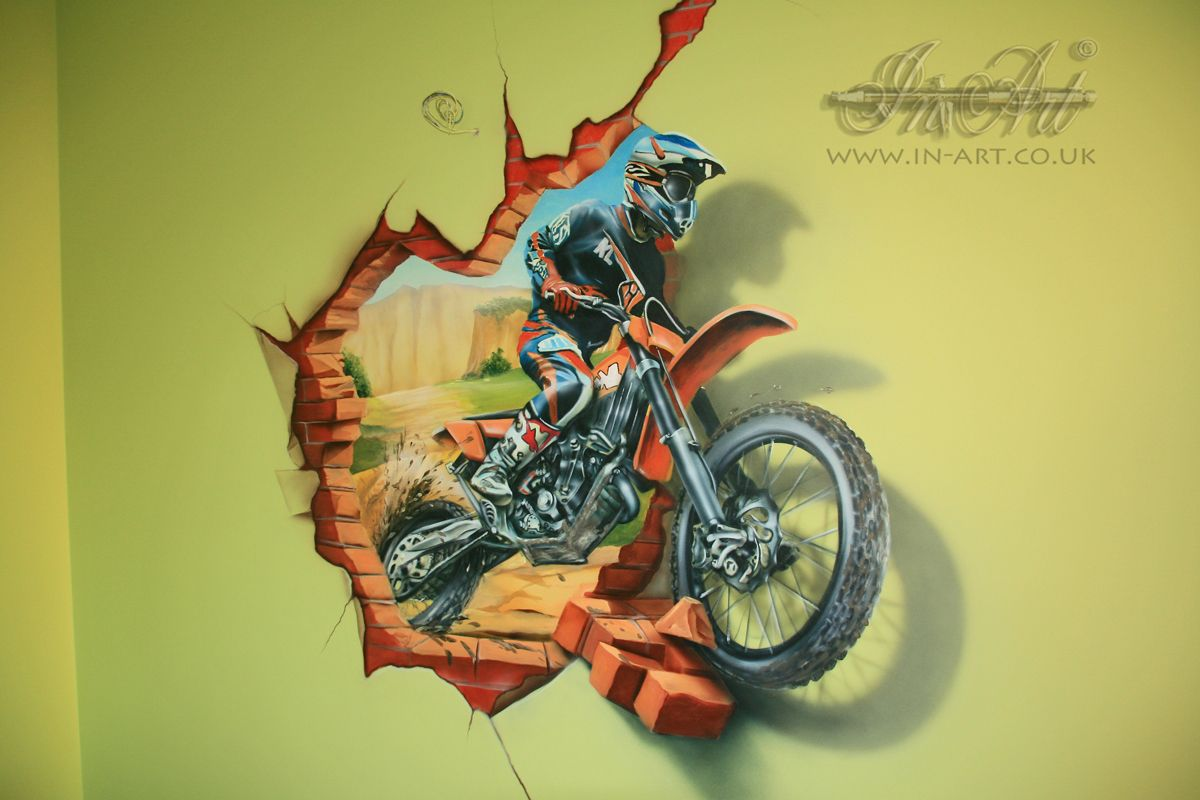 Old Fashioned Motocross Wall Art Model - All About Wallart ...