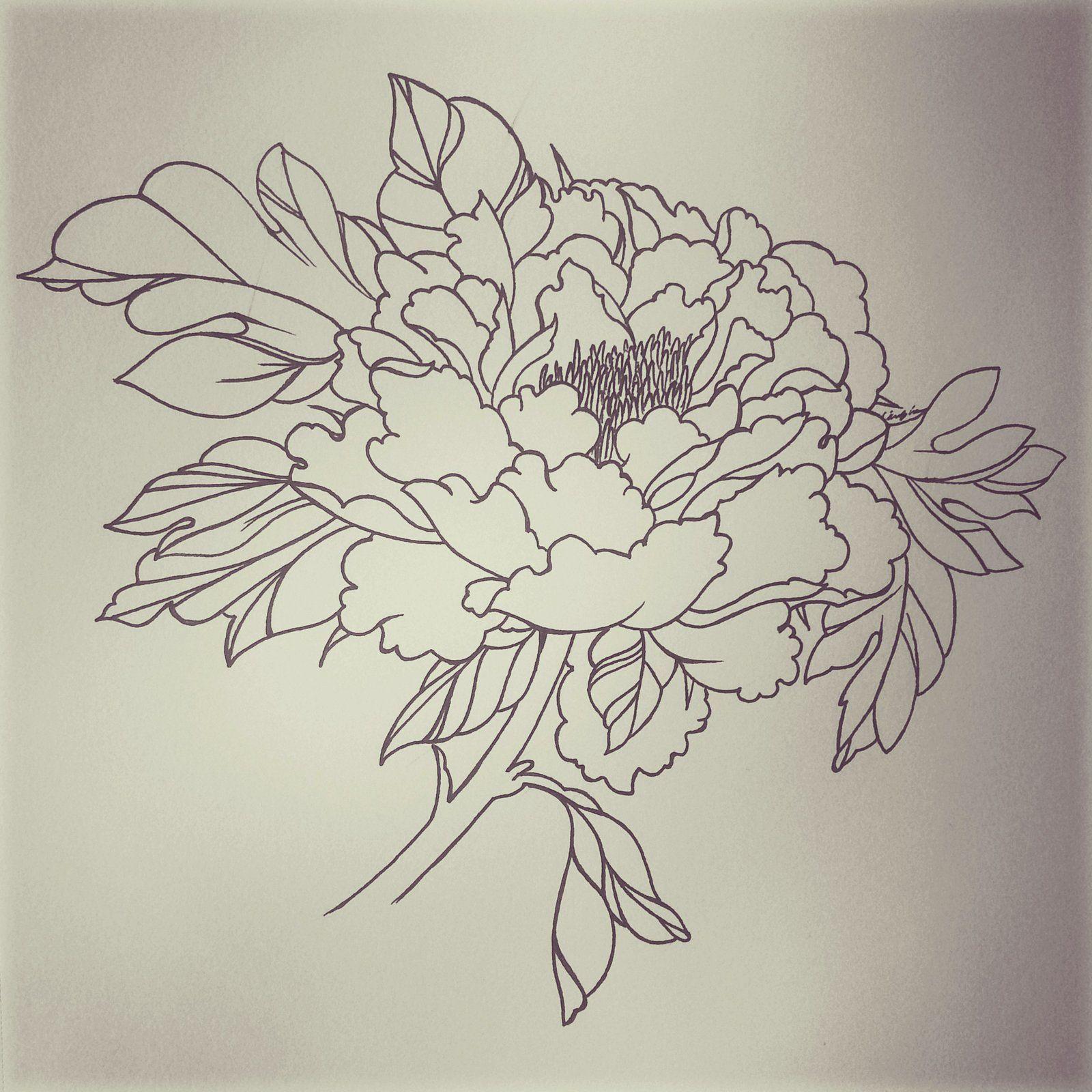 Tatouage fleur de pivoine galerie tatouage - Petit tatouage significatif ...