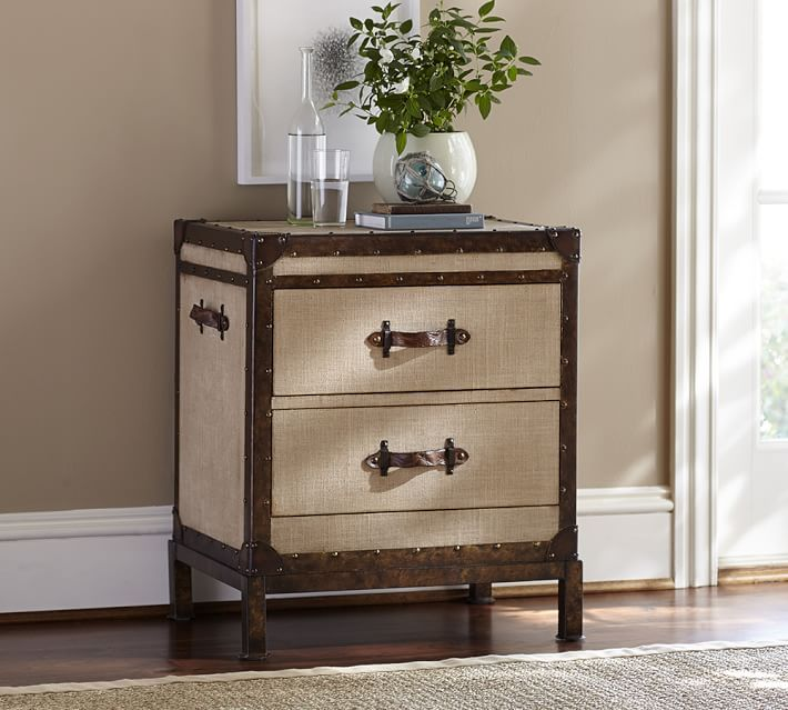 Redford Trunk Bedside Table