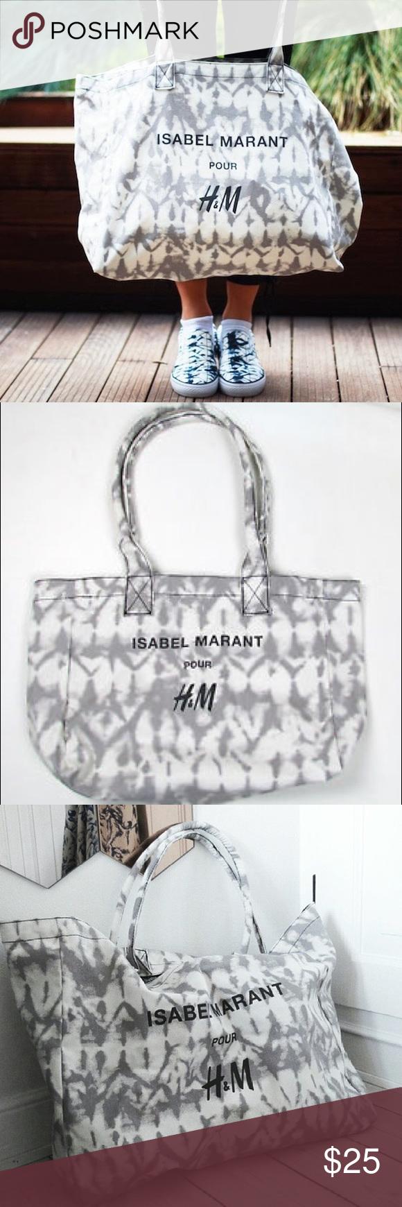 99b98dd579 Xmas Sale! Isabel Marant-H&M tie dye canvas tote Isabel Marant pour H&M tie  dye canvas tote. Isabel Marant pour H&M Bags