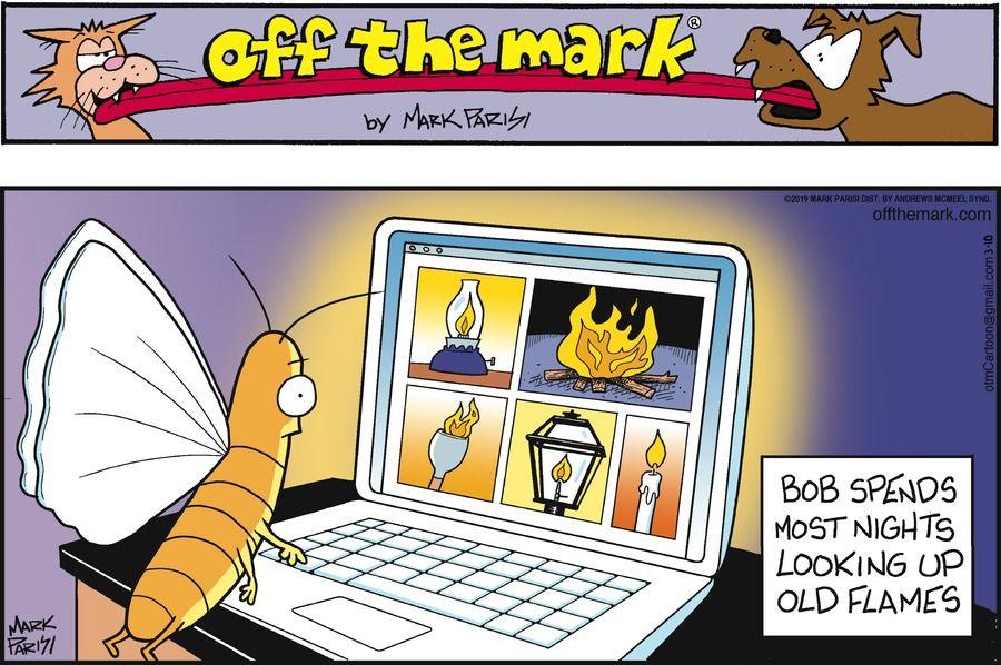 For March 10, 2019 Teacher comics, Black cat