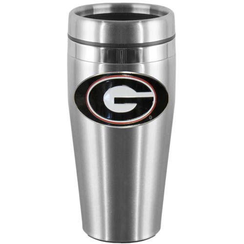 Siskiyou NCAA Insulated Thermos with Flame Logo