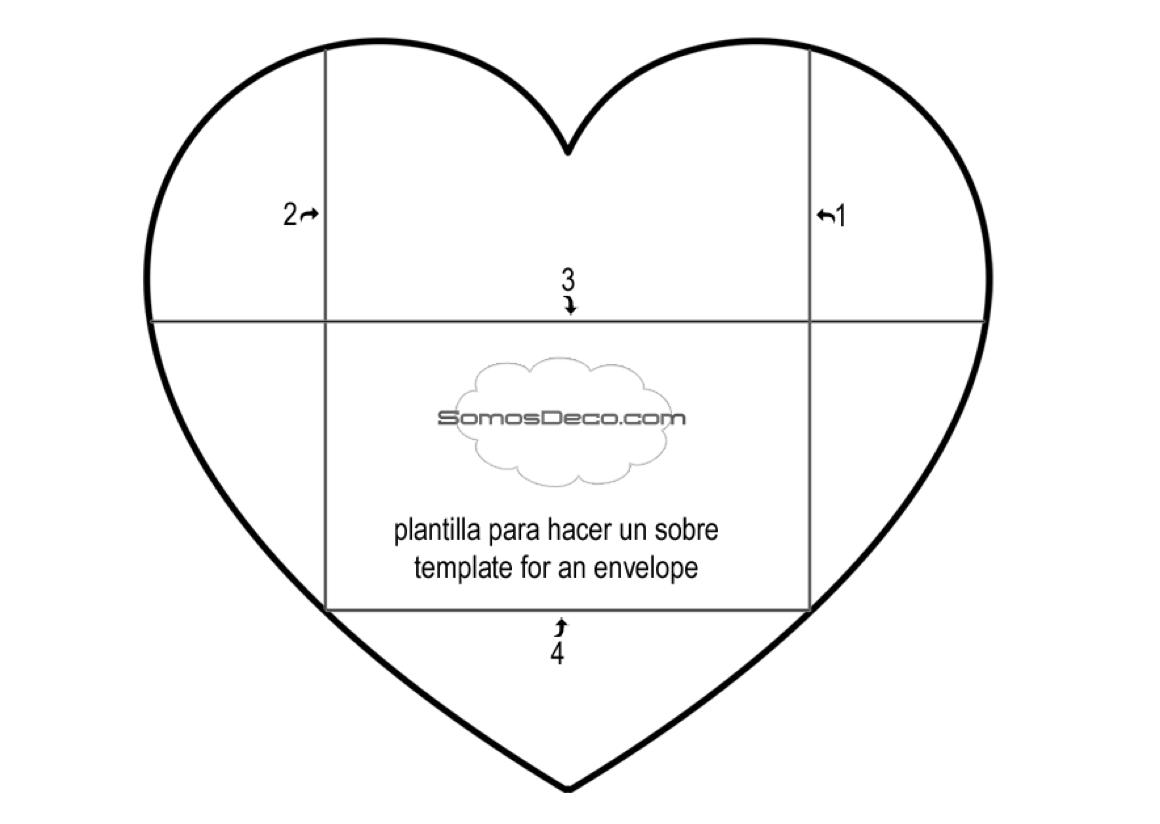 heart envelope template koni polycode co