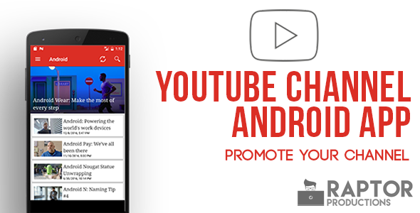 Youtube Channel App Android With Images Android Apps App