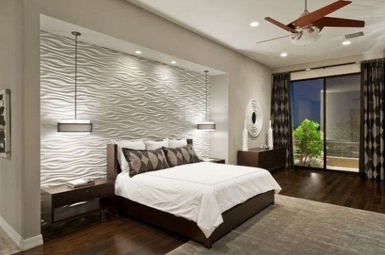 Lampade a sospensione per la camera da letto interior