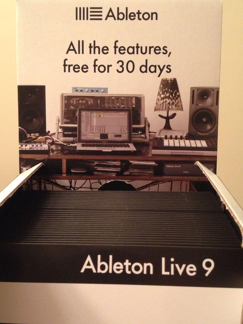 Ableton live dvd for ableton ableton