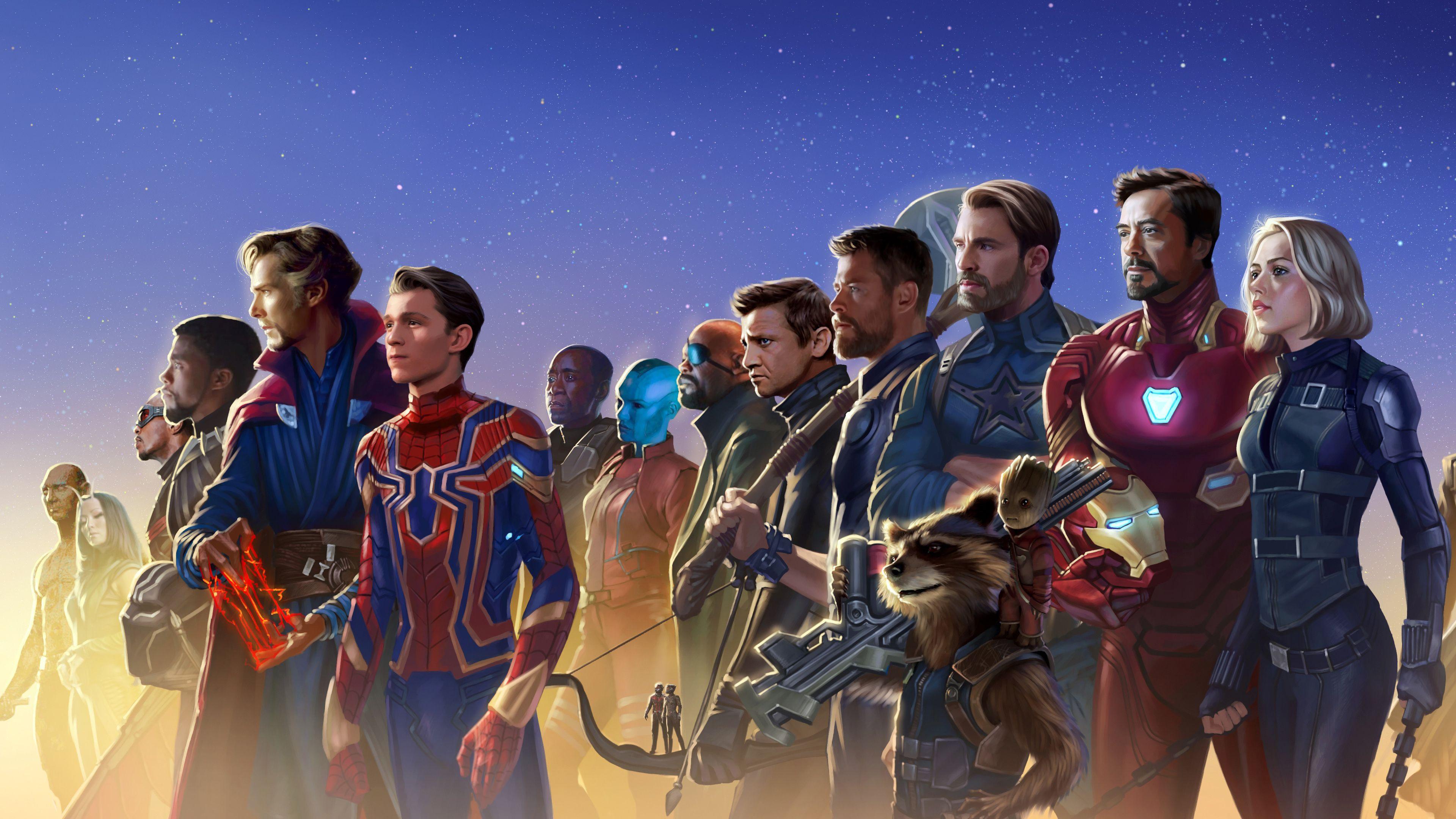 Avengers Infinity War 5k Artwork Marvel Superheroes Avengers Movies Marvel Wallpaper