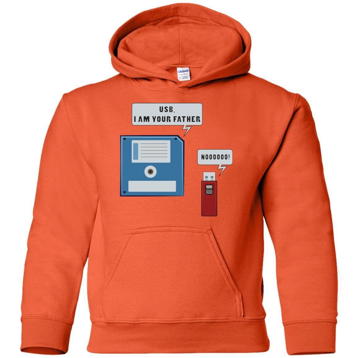 Computer IT Programmer Kids Unisex Hoodie Upgrade Needed