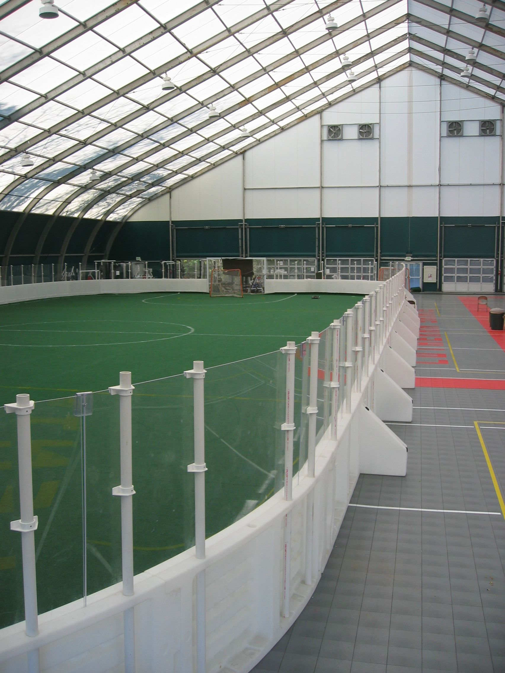 Box lacrosse rink boards for sale portable or permanent