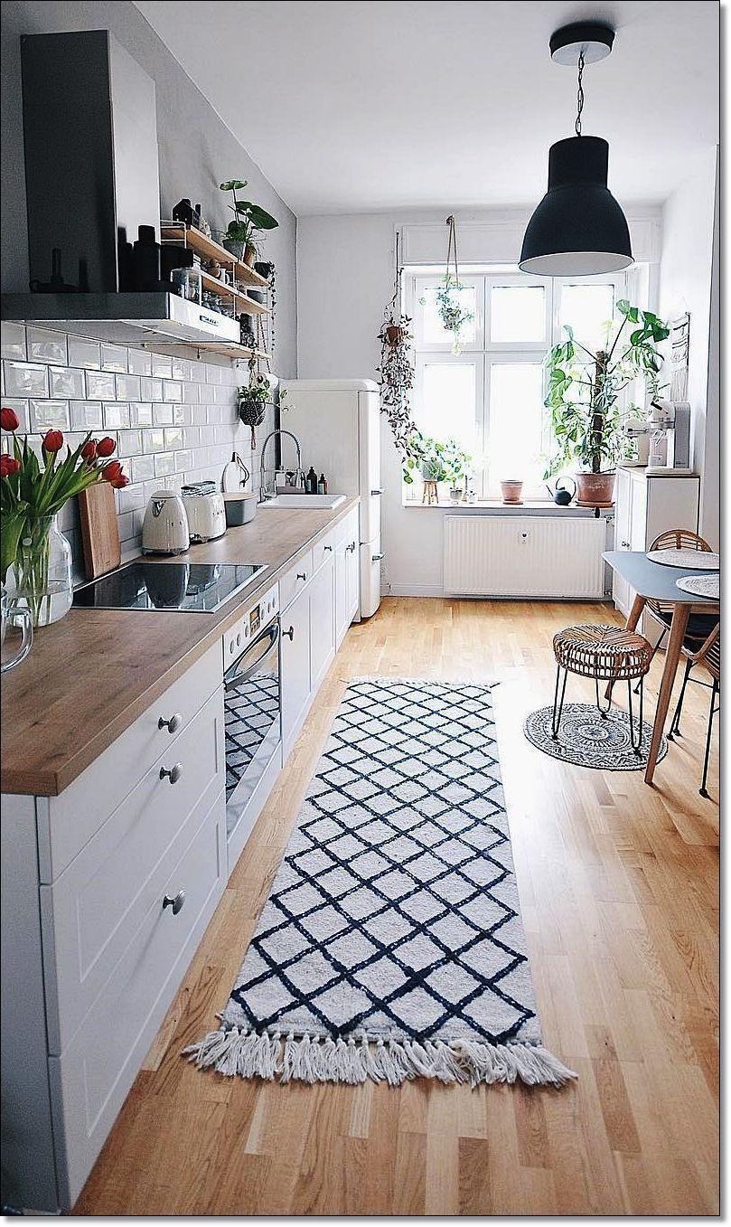 34 imágenes de los nuevos estilos de renovación de cocinas. Diseño de cocina blanco con encim...
