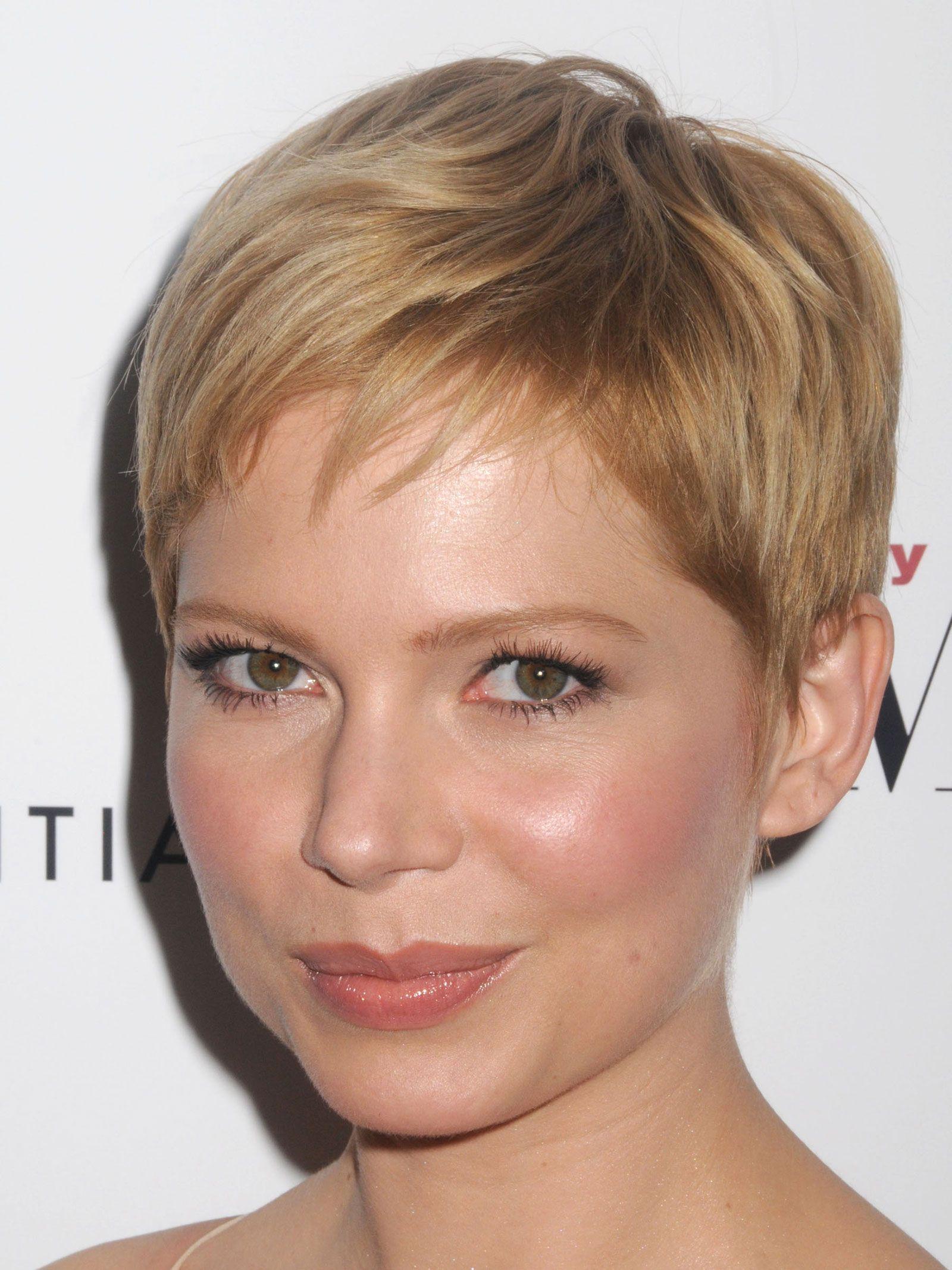 michelle williams   Michelle Williams Pixie Haircut ...