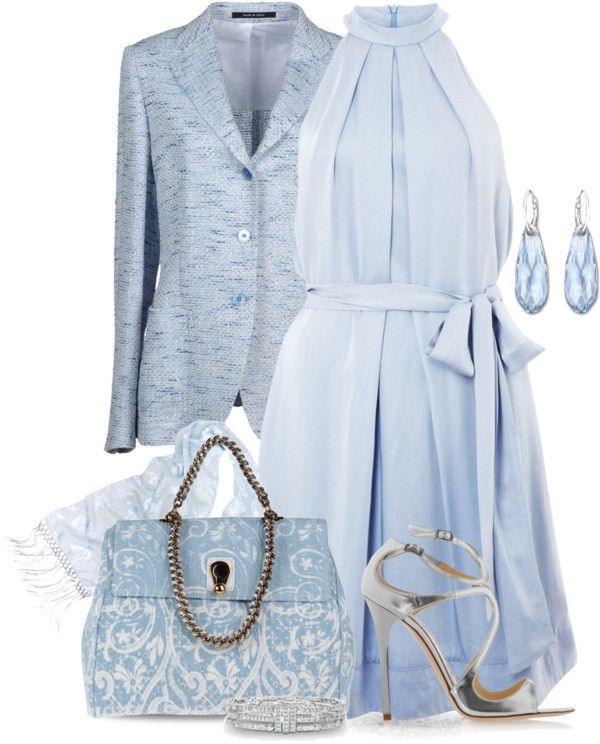 """Out Of The Blue"" by yasminasdream on Polyvore"