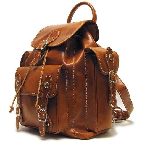 Floto Roma Backpack Honey Brown