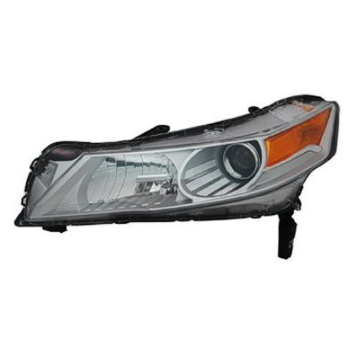 Acura Tl Left Driver Side Hid Head Light Lens And Housing Will - Acura tl headlight bulb
