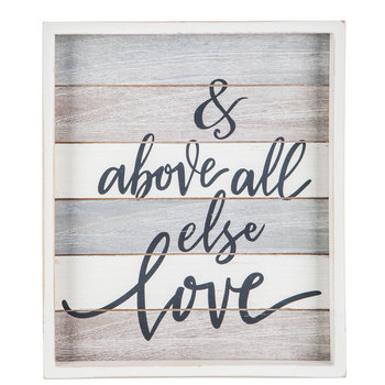 Above All Else Wood Wall Decor In 2020 Wood Wall Decor Christian Wall Decor Pallet Wall Art