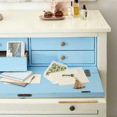 Ainsley Antique White Secretary Desk - Pier One - Ainsley Antique White Secretary Desk - Pier One House-a-home