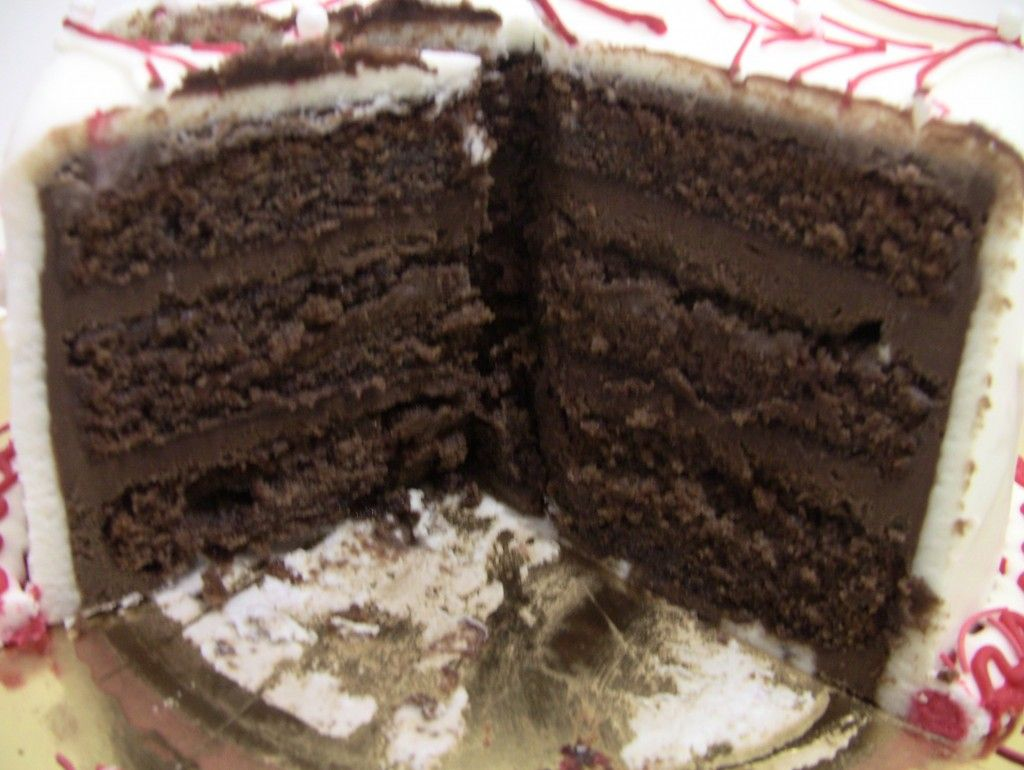 Chocolate Mousse Cake Filling - Veena's Art of Cakes - Veena's Art of Cakes