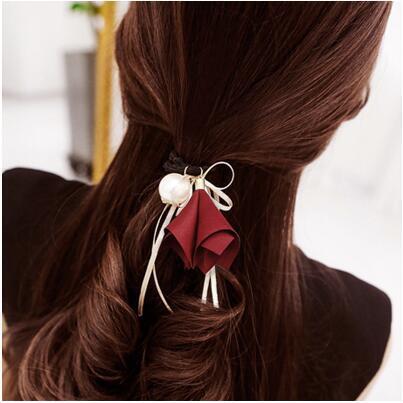 Girl Cool Pearl Design Hair Band  bf014542eed