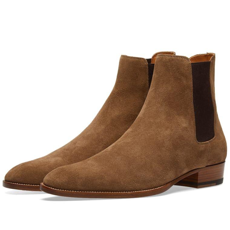 cc27b33b261 Saint Laurent Wyatt 30 Boxer Chelsea Boot in 2019   Shoes   Boots ...