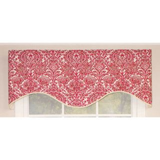 The Silo cornice valance features a gorgeous red design and decorative trim. This valance will add a great touch to any room and window. Valance Type: Cornice Product Features: Lined Material: All Cot